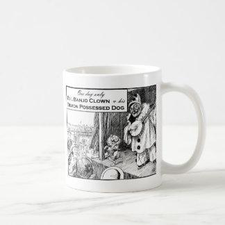Caneca De Café Um dia somente: Palhaço mau do banjo