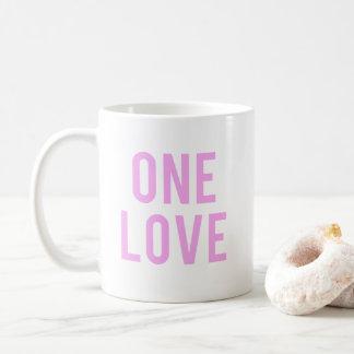 Caneca De Café Um impressão cor-de-rosa do amor