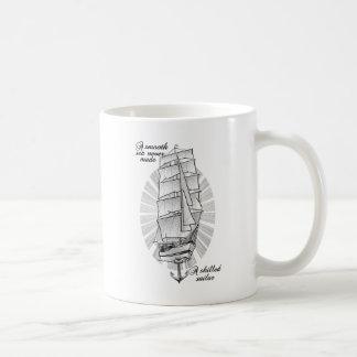Caneca De Café Um mar liso nunca fez um marinheiro especializado