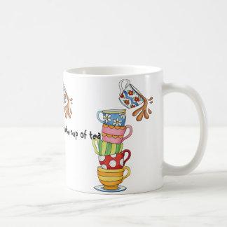 Caneca De Café Uma estadia agradável para o chá