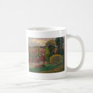 Caneca De Café Uma fazenda em Brittany - Paul Gauguin