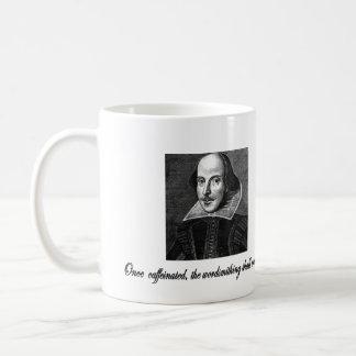 Caneca De Café Uma vez Caffeinated, o Wordsmithing começará