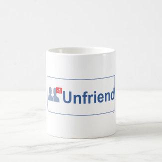 Caneca De Café UNFRIEND Facebook