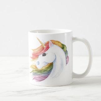 Caneca De Café Unicórnio do arco-íris