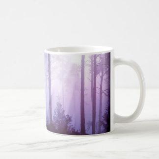 Caneca De Café Unicórnio na floresta