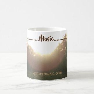 Caneca de café Upriver da música