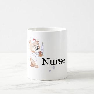 Caneca De Café Urso da enfermeira