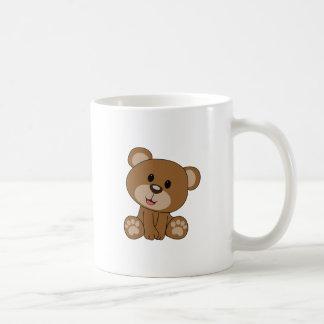 Caneca De Café Urso de ursinho de Brown
