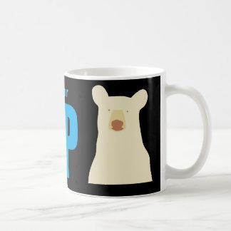 Caneca De Café Urso do espírito do projeto da ajuda
