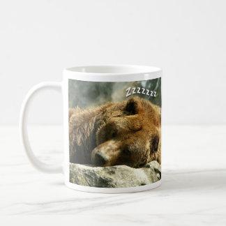 Caneca De Café Urso do sono