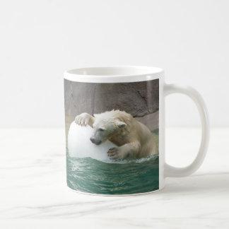 Caneca De Café Urso polar do bebê