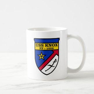 Caneca De Café USS Knox FF-1052