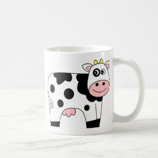 Caneca De Café Vaca bonito dos desenhos animados