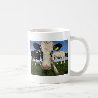 Caneca De Café Vaca curiosa