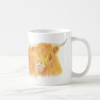 Caneca De Café Vaca das montanhas