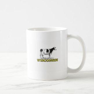 Caneca De Café Vaca de leiteria de Wisconsin