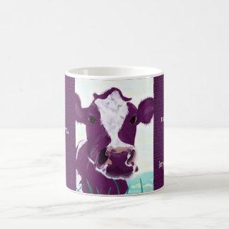 Caneca De Café Vaca roxa que contempla bastante possivelmente a