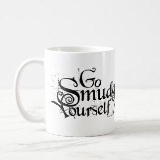 Caneca De Café Vai o borrão você mesmo