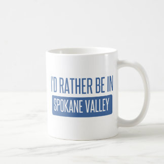 Caneca De Café Vale de Spokane