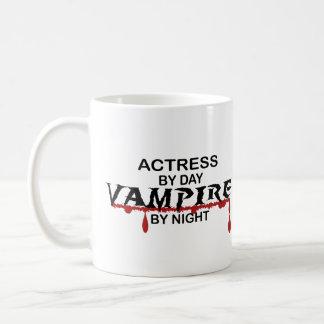 Caneca De Café Vampiro da atriz em a noite
