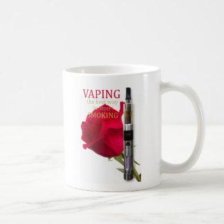 Caneca De Café Vaping é a melhor maneira de parar de fumar