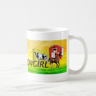 Caneca De Café Vaqueira de Wisconsin do T