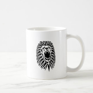 Caneca De Café vecto principal do leão