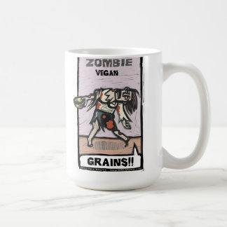 Caneca De Café Vegan do zombi - copo