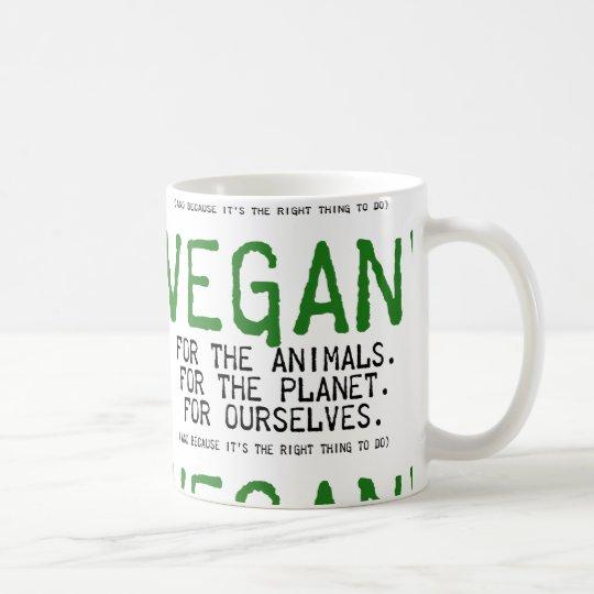 CANECA DE CAFÉ VEGAN FOR THE ANIMALS