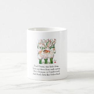 Caneca De Café Vegetais bonitos dos miúdos das cebolas de pérola