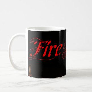 Caneca De Café Velas de Firestarter que queimam-se na obscuridade