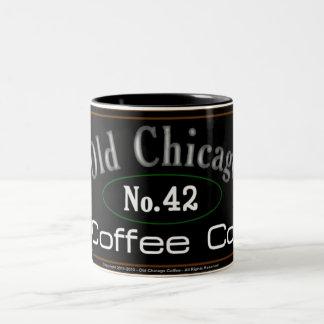 Caneca de café velha de Chicago