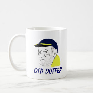 Caneca de café velha do Duffer
