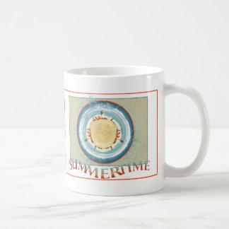 Caneca De Café Verão - você mar o mundo como mim faz?