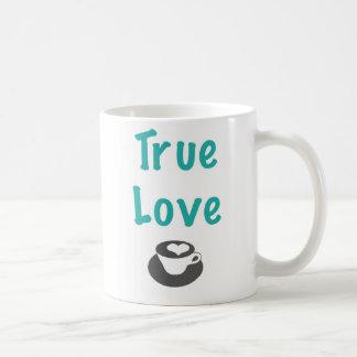 Caneca de café verdadeira do amor