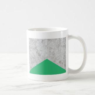 Caneca De Café Verde concreto #175 da seta