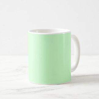 Caneca De Café Verde da hortelã da luz da cor da Web do código do