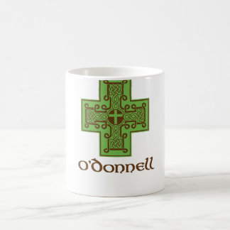 Caneca De Café Verde e Brown do logotipo de O'Donnell