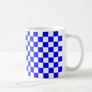 Caneca De Café Verificadores azuis