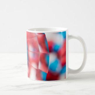 Caneca De Café Vermelho, branco, e azul!