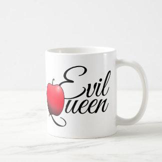 Caneca De Café Vermelho mau Apple da rainha
