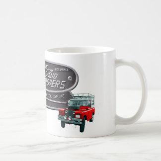 Caneca De Café Vermelho Rover das armas e dos vagabundos