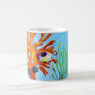 Caneca De Café Vida aquática