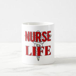 Caneca De Café Vida da enfermeira