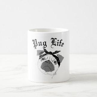 Caneca De Café Vida do Pug!