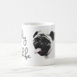 Caneca De Café Vida do Pug