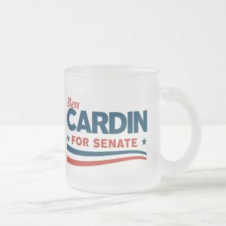 Caneca De Café Vidro Jateado Ben Cardin
