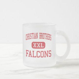 Caneca De Café Vidro Jateado Irmãos cristãos - Falcons - altos - Sacramento
