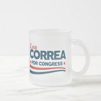 Caneca De Café Vidro Jateado Lou Correa