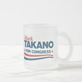 Caneca De Café Vidro Jateado Marque Takano